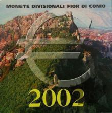 SAINT MARIN - 2002 - Série BU