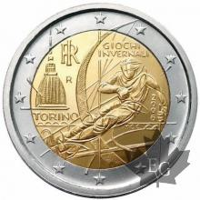ITALIE-2006-2 EURO COMMEMORATIVE