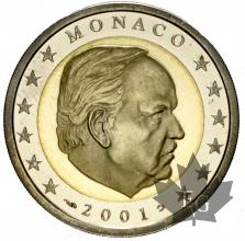 MONACO-2001-2 EURO-BE-PROOF