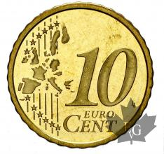 MONACO-2001-10 CENTIMES-BE-PROOF