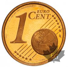 MONACO-2001-1 CENTIME-BE-PROOF