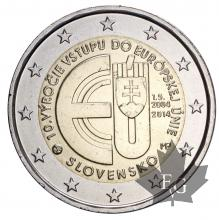 SLOVAQUIE-2014-2 EURO COMMEMORATIVE