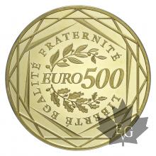 FRANCE-2010-500 EURO OR PROOF