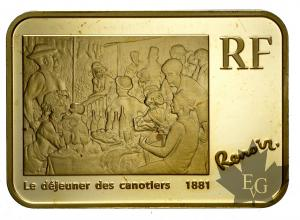 FRANCE-2009-100 EURO-AUGUSTE RENOIR-PROOF-MONNAIE DE PARIS