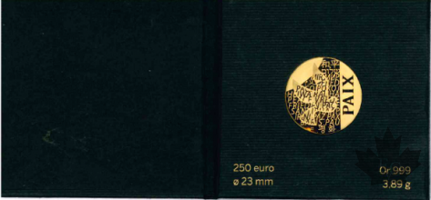 FRANCE-2013-250 EURO-OR-MONNAIE DE PARIS