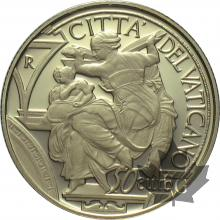 VATICAN-2014-50 EURO  OR-PROOF