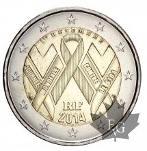 FRANCE-2014-2 EURO-SIDA-FDC