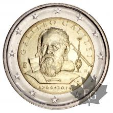 ITALIE-2014-2 EURO-GALILEO GALILEI-FDC