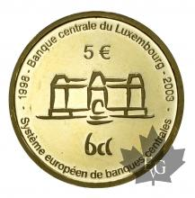 LUXEMBOURG-2003-5 EURO OR-PROOF