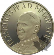 VATICAN-2014-200 EURO OR-PROOF