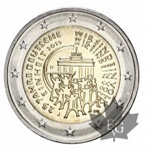 ALLEMAGNE-2015J-2 EURO-German Unity-FDC