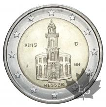 ALLEMAGNE-2015J-2 EURO-Paulskirche-FDC