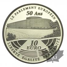FRANCE-2008-10 EURO-LE PARLEMENT EUROPÉEN-PROOF