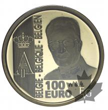 BELGIQUE-2003-100 EURO-PROOF