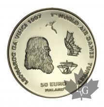 FINLANDE-1997-50 EURO OR-FAI-PROOF