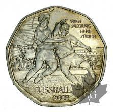 AUTRICHE-2008-5 EURO ARGENT-FDC