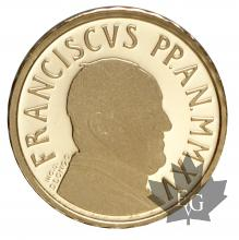 VATICAN-2015-10 EURO OR-PROOF