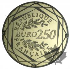 FRANCE-2014-250 EURO-BU- MONNAIES DE PARIS
