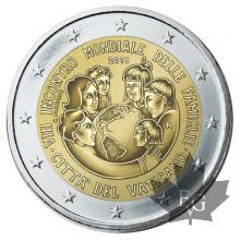 VATICAN-2015-2 EURO COMMEMORATIVE-PROOF-BE