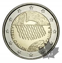 FINALNDE-2015-2 EURO COMMEMORATIVE-Akseli Gallen