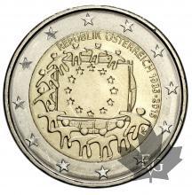 AUTRICHE-2015-2 EURO-COMMEMORATIVE
