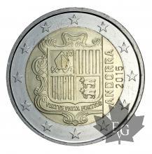 ANDORRE-2015-2 EURO-FDC