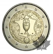 FRANCE-2016-2 EURO COMMEMORATIVE-UEFA