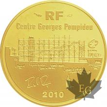 FRANCE-2010-50 EURO-CENTRE GEORGES POMPIDOU-PROOF