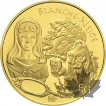 FRANCE-2002-20 EURO OR-BLANCHE NEIGE-PROOF