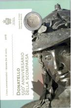 SAINT MARIN-2016-2 EURO COMMEMORATIVE-DONATELLO