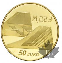 FRANCE-2009-50 EURO OR-CONCORDE-PROOF