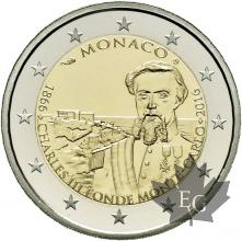 MONACO-2016-2 EURO COMMEMORATIVE-PROOF