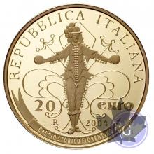 ITALIE-2004 - 20€ or - FIFA WORLD CUP GERMANY 2006