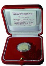 MONACO-2015-2 EURO COMMEMORATIVE-PROOF
