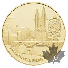 FRANCE-2004-20 EURO OR-PROOF AVIGNON ET LE PALAIS DE PAPES