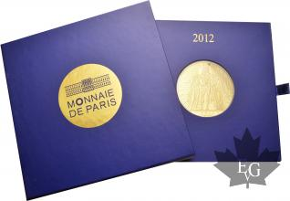 FRANCE-2012-1000 EURO OR-PROOF-MONNAIE DE PARIS