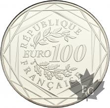 FRANCE-2012-100 EURO ARGENT-PROOF-MONNAIE DE PARIS