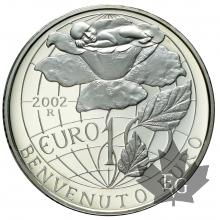 S. MARIN-2002-10 EURO ARGENT- PROOF
