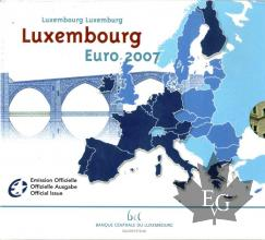 LUXEMBOURG-2007-SÉRIE BU-FDC