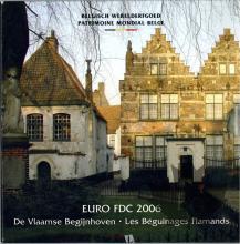 BELGIQUE-2006-SERIE BU-FDC