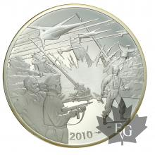 FRANCE-2010-10 EURO ARGENT-BLAKE & MORTIMER-PROOF
