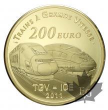 FRANCE-2011-200 EURO OR-TGV GARE DE METZ-PROOF