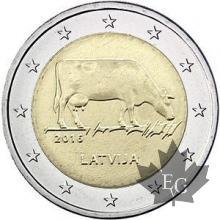 LETTONIE-2016-2 EURO COMMEMORATIVE-FDC