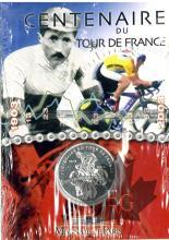 FRANCE-2003-1/4 EURO-ARGENT-TOUR DE FRANCE-FDC