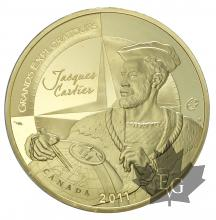 FRANCE-2011-200 EURO OR-Jacques Cartier-PROOF