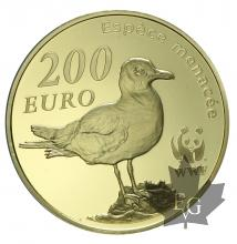 FRANCE-2011-200 EURO OR-WWF-PROOF