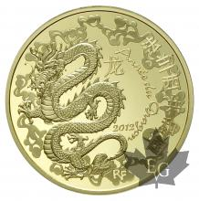 FRANCE-2012-200 EURO-ANNÉE DU DRAGON-PROOF