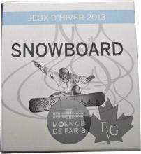 FRANCE-2013-10 Euro-SNOWBOARD Jeux d'Hiver- PROOF-BE