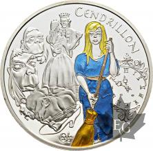 FRANCE-2002-1-Euro-1/2-CENDRILLON-PROOF-BE