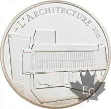 FRANCE-2015-10-Euro-LE-CORBUSIER-PROOF-BE